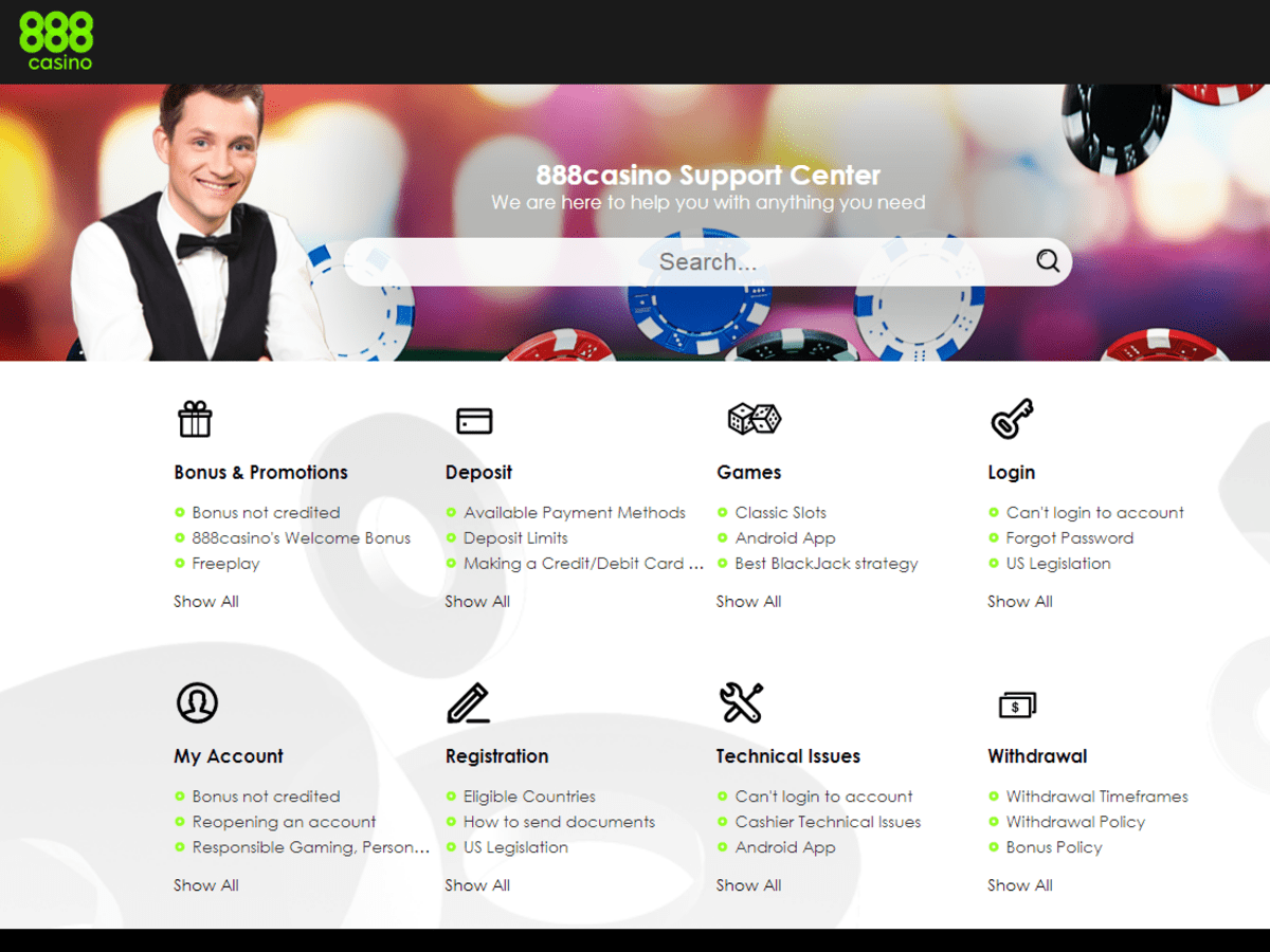 888 support options