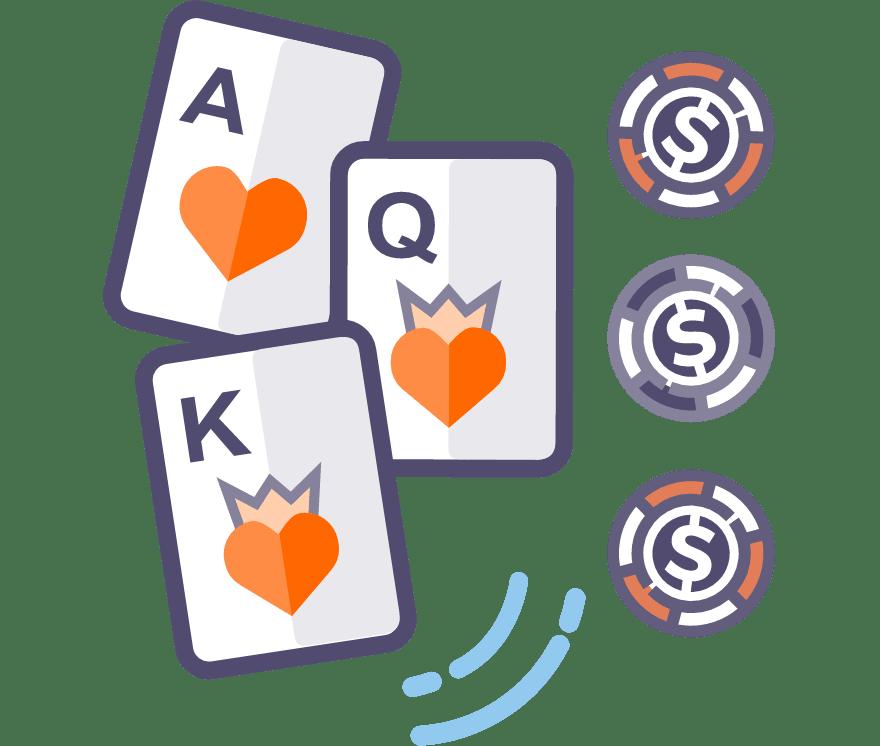 Best 23 Three Card Poker Online Casino in 2021